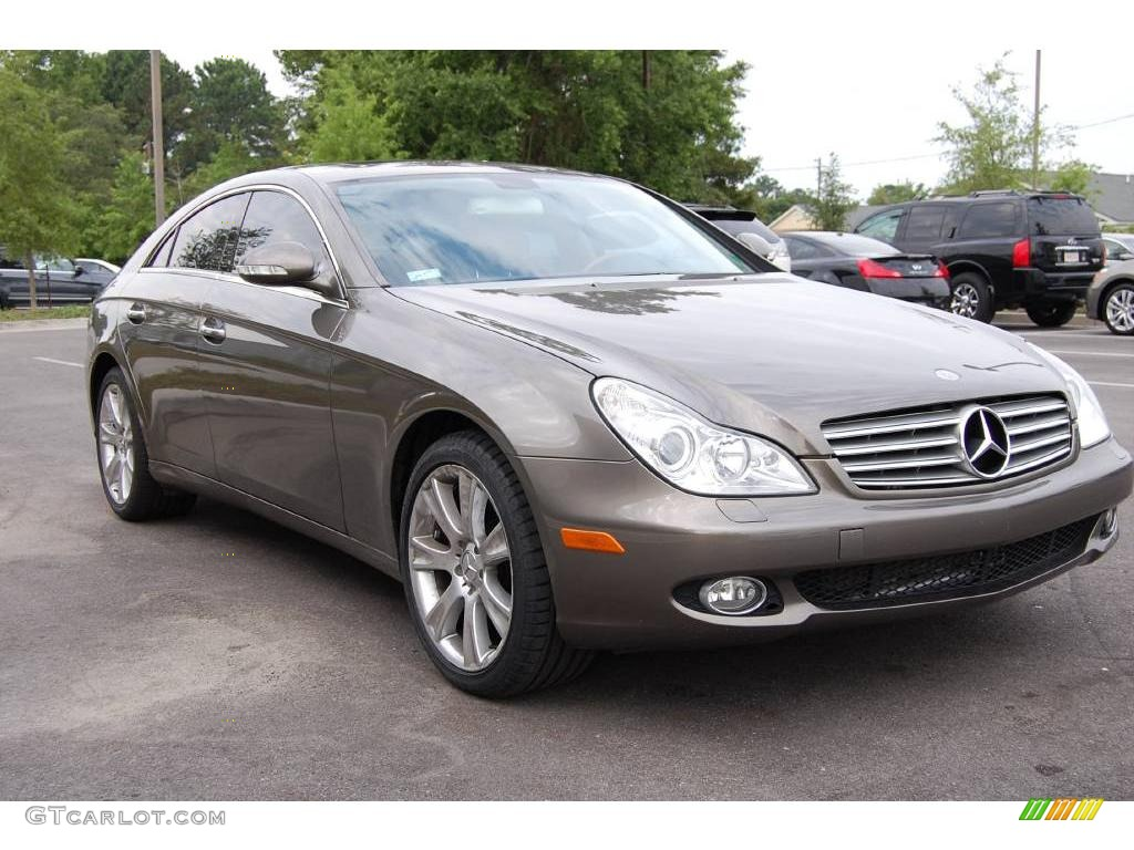 2006 cls 500 indium grey metallic cashmere beige photo 1