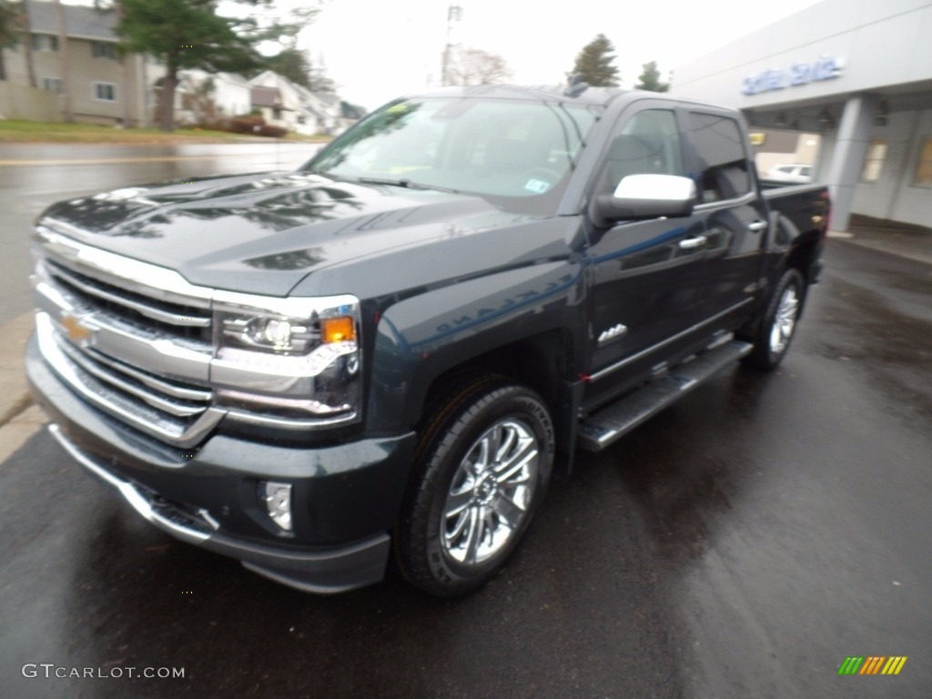 2018 Silverado 1500 High Country Crew Cab 4x4 - Graphite Metallic / Jet Black photo #1