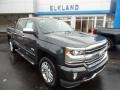 2018 Graphite Metallic Chevrolet Silverado 1500 High Country Crew Cab 4x4  photo #3