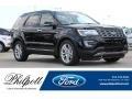 Shadow Black 2017 Ford Explorer Limited