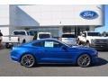 2018 Lightning Blue Ford Mustang EcoBoost Fastback  photo #2