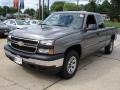 2006 Graystone Metallic Chevrolet Silverado 1500 LS Extended Cab 4x4  photo #1
