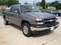 2006 Graystone Metallic Chevrolet Silverado 1500 LS Extended Cab 4x4  photo #2