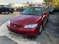 Firepepper Red Pearl 2002 Honda Accord SE Sedan