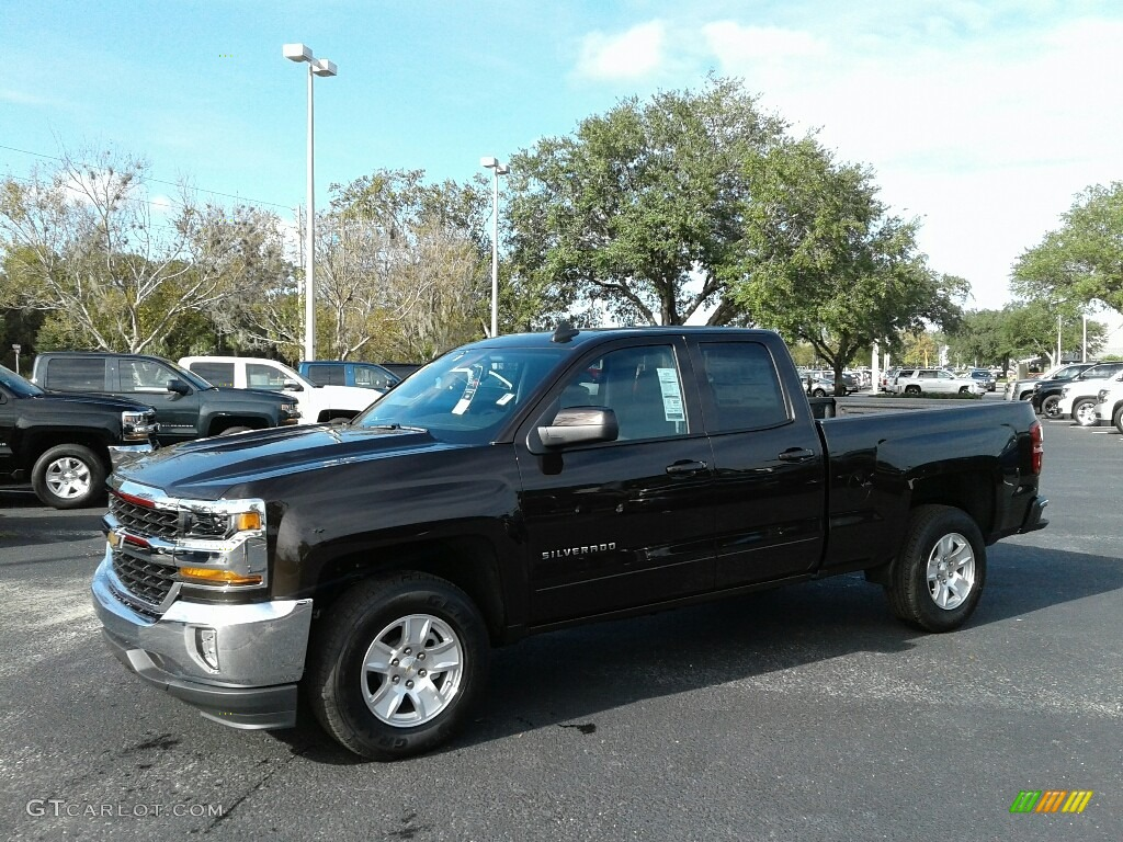 2018 Silverado 1500 LT Double Cab - Havana Metallic / Jet Black photo #1