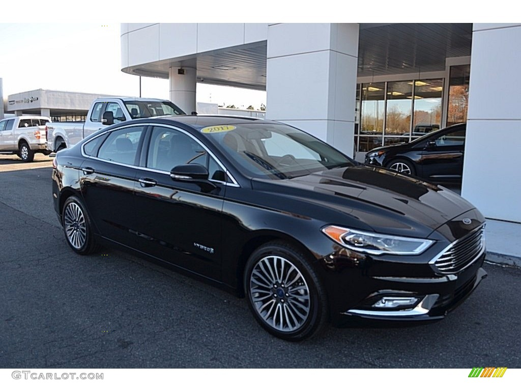 2017 Fusion Hybrid Anium Shadow Black Ebony Photo 1