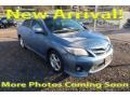 Nautical Blue Metallic 2012 Toyota Corolla S