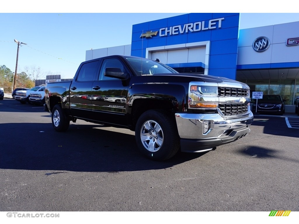 2018 Silverado 1500 LT Crew Cab - Black / Jet Black photo #1