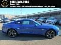 2018 Lightning Blue Ford Mustang GT Fastback  photo #1