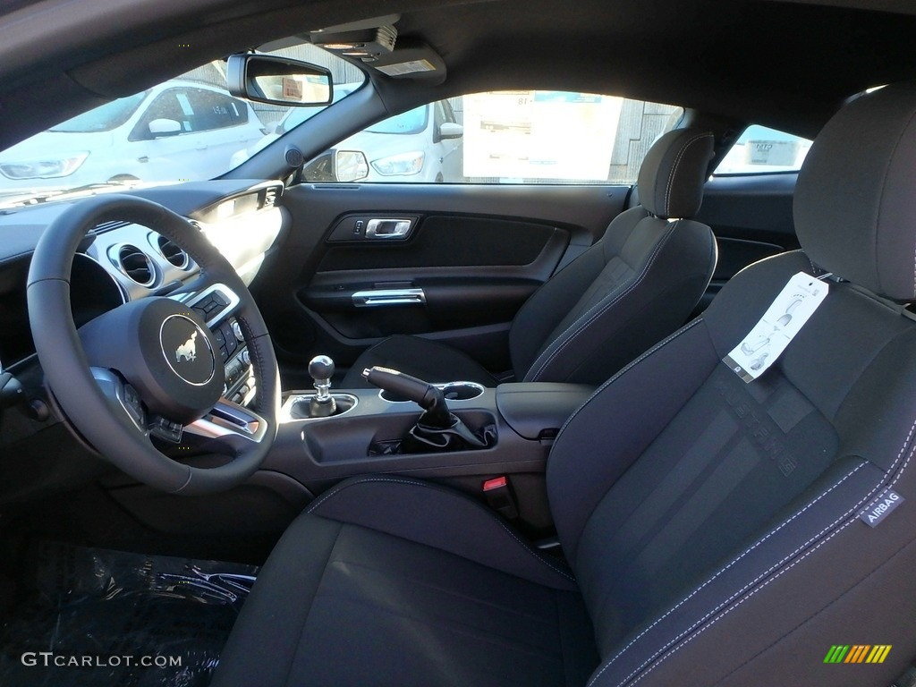 2018 Mustang GT Fastback - Shadow Black / Ebony photo #11