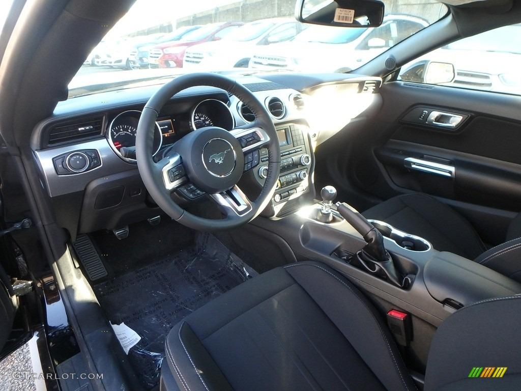 2018 Mustang GT Fastback - Shadow Black / Ebony photo #13