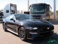 2018 Shadow Black Ford Mustang EcoBoost Fastback  photo #7