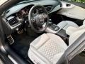 2014 RS 7 4.0 TFSI quattro Lunar Silver Valcona Leather w/Honeycomb Stitching Interior