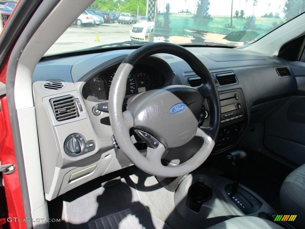 2005 Focus ZXW SES Wagon - Infra-Red / Dark Flint/Light Flint photo #10