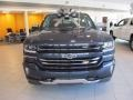 2018 Centennial Blue Metallic Chevrolet Silverado 1500 LTZ Crew Cab 4x4  photo #2