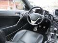 2013 Black Noir Pearl Hyundai Genesis Coupe 3.8 Track  photo #13