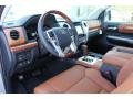 1794 Edition Black/Brown Interior Photo for 2018 Toyota Tundra #124208489