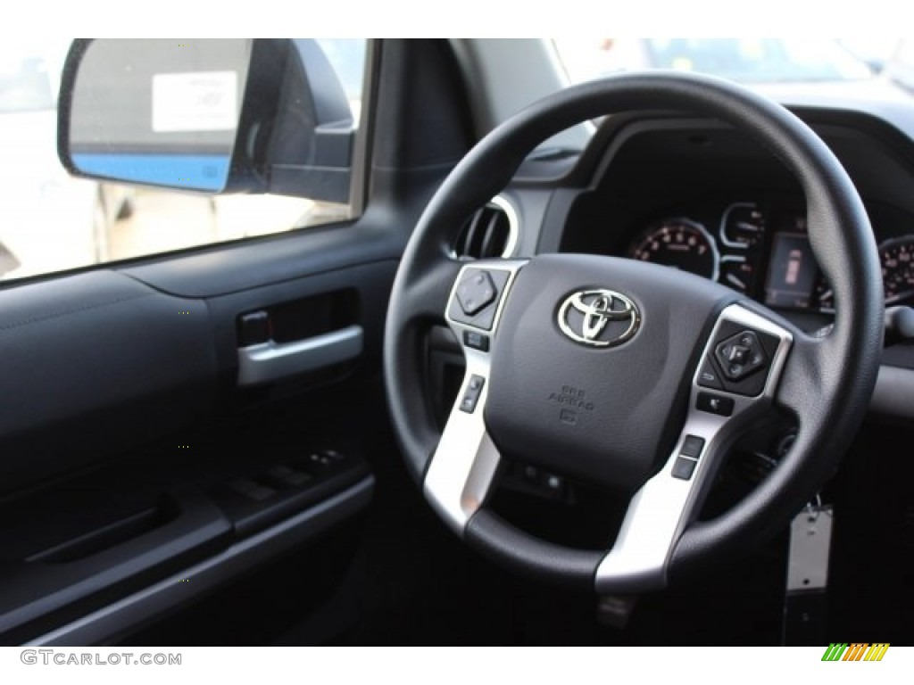 2018 Toyota Tundra TSS CrewMax Steering Wheel Photos