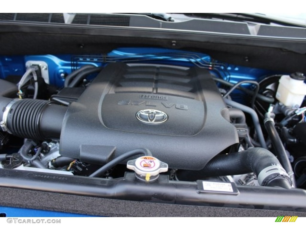 2018 Toyota Tundra TSS CrewMax Engine Photos