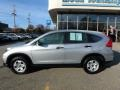 2015 Alabaster Silver Metallic Honda CR-V LX AWD  photo #2