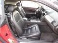 2007 Jaguar XK Charcoal Interior Front Seat Photo