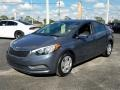 Steel Blue 2016 Kia Forte LX Sedan