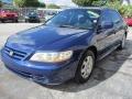2002 Eternal Blue Pearl Honda Accord EX Sedan  photo #3