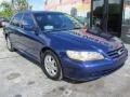 2002 Eternal Blue Pearl Honda Accord EX Sedan  photo #5