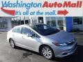 Alabaster Silver Metallic 2012 Honda Civic EX-L Sedan