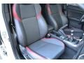 Carbon Black Front Seat Photo for 2016 Subaru WRX #124281051
