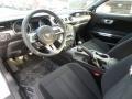 2018 Ford Mustang Ebony Interior Prime Interior Photo