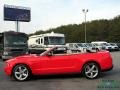 2011 Race Red Ford Mustang V6 Convertible  photo #2