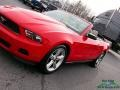 2011 Race Red Ford Mustang V6 Convertible  photo #23