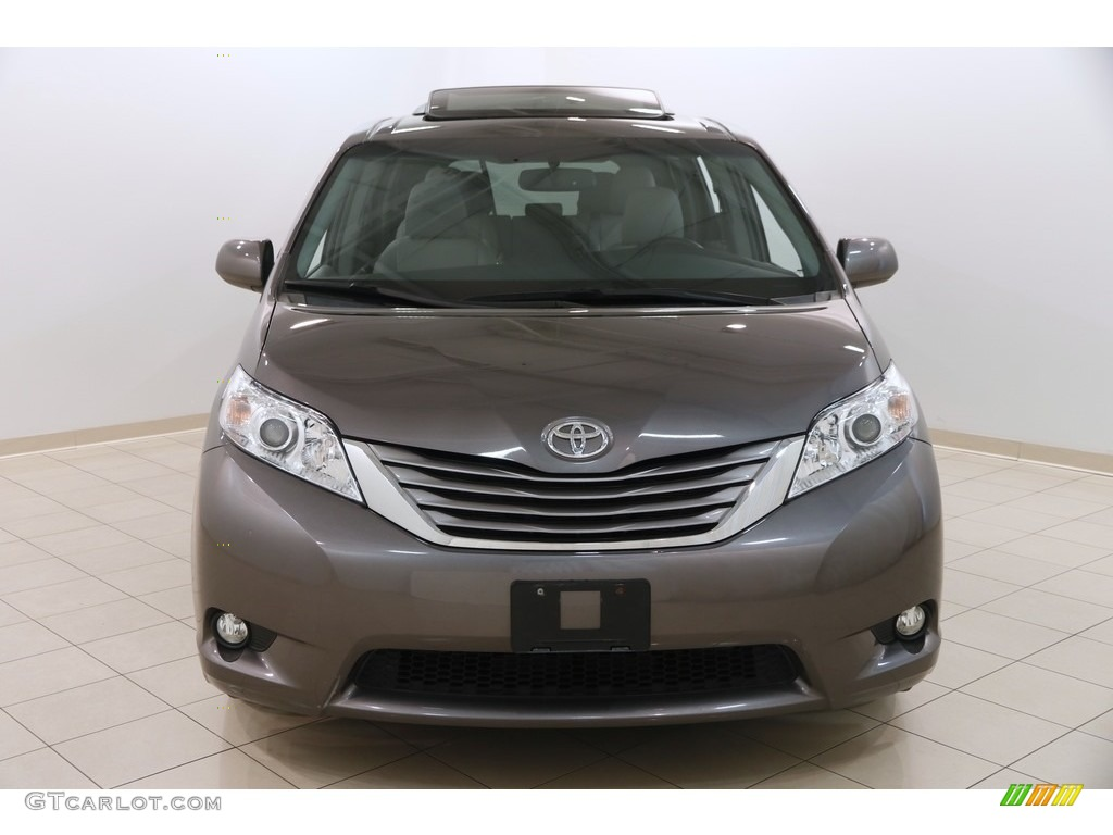 2015 Sienna XLE - Predawn Gray Mica / Ash photo #2