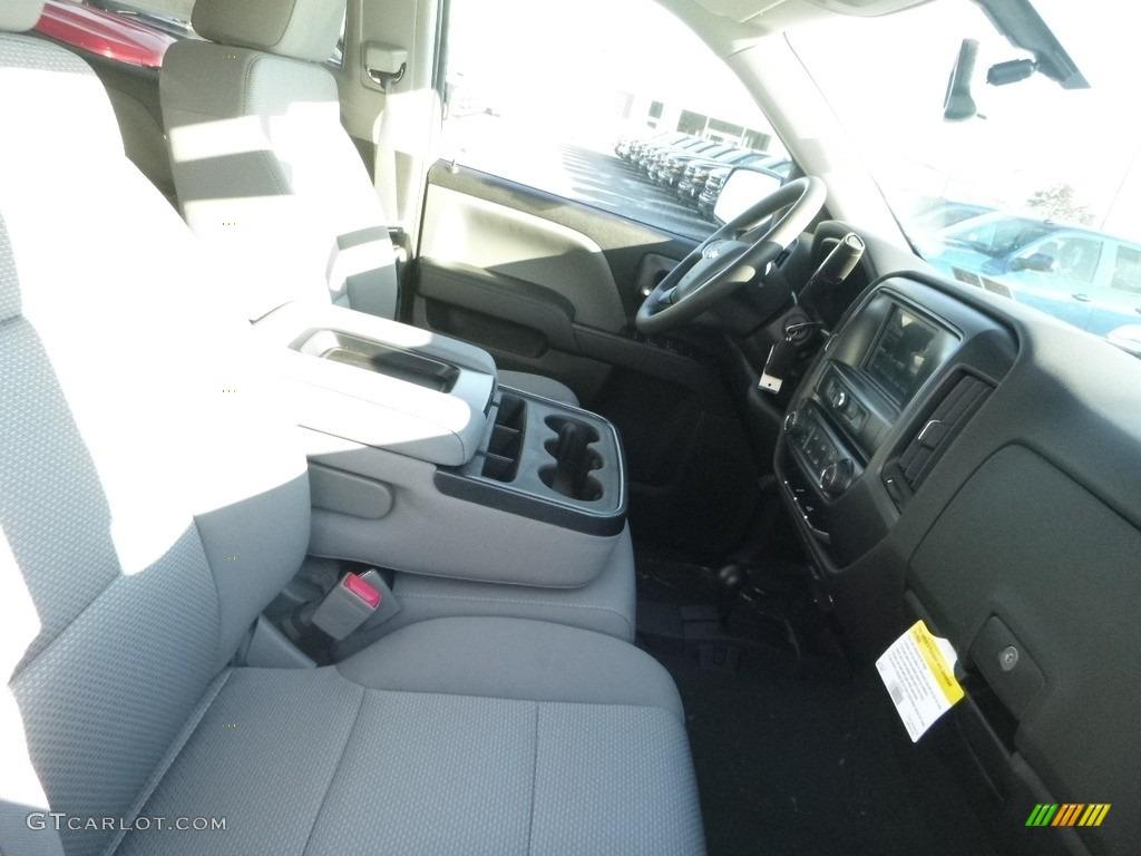 2018 Silverado 1500 Custom Crew Cab 4x4 - Summit White / Dark Ash/Jet Black photo #10