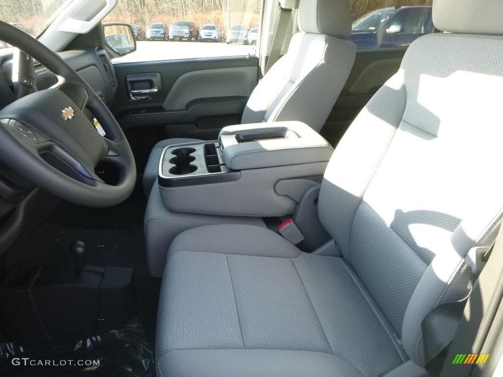 2018 Silverado 1500 Custom Crew Cab 4x4 - Summit White / Dark Ash/Jet Black photo #16