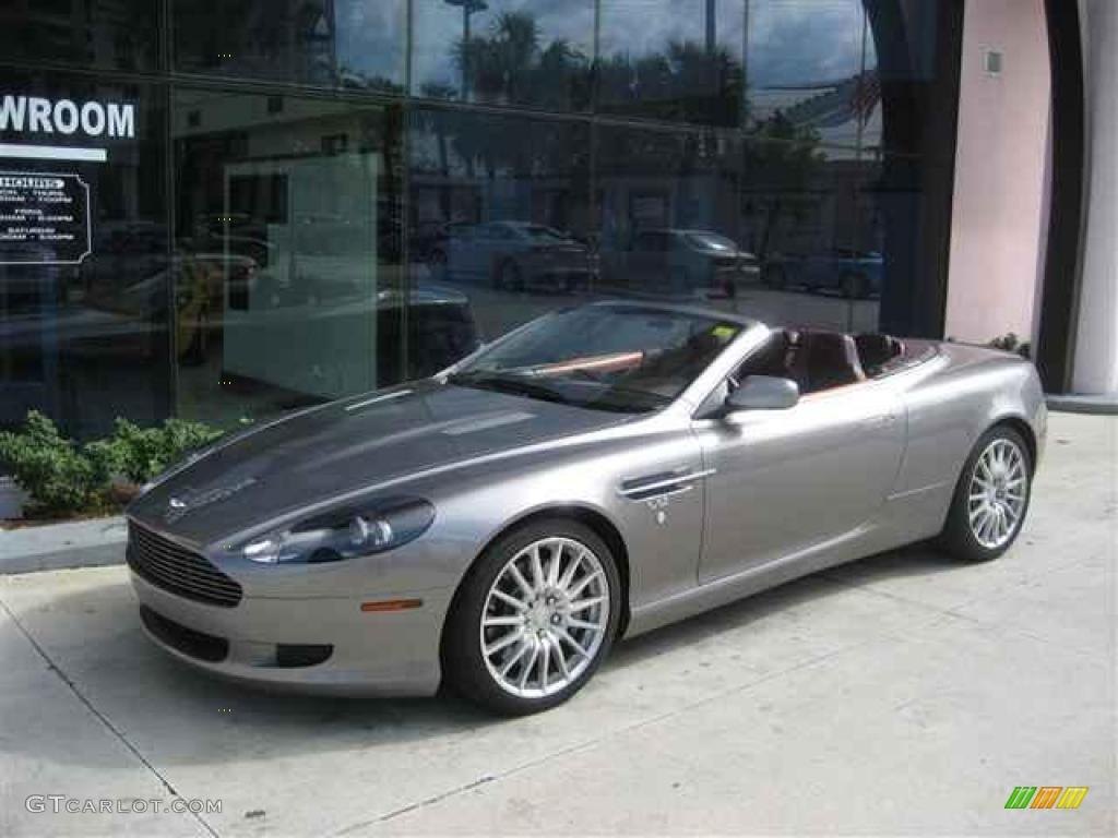 2006 Tungsten Silver Aston Martin DB9 Volante 12412147