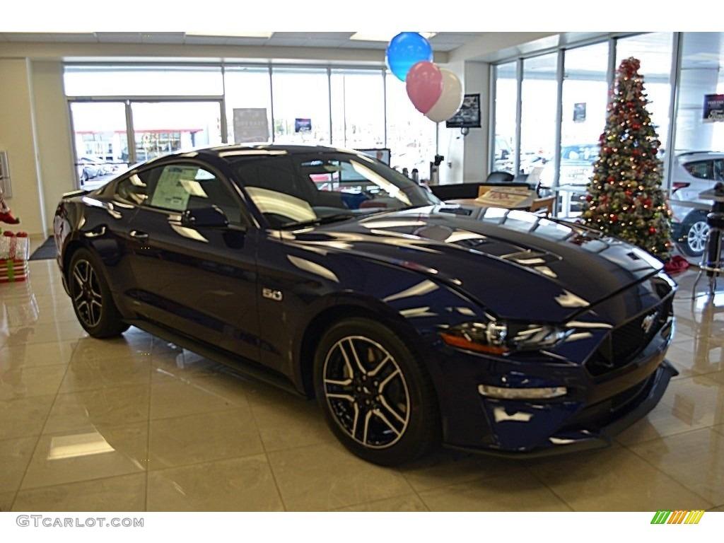 2018 Mustang GT Fastback - Kona Blue / Ebony photo #1
