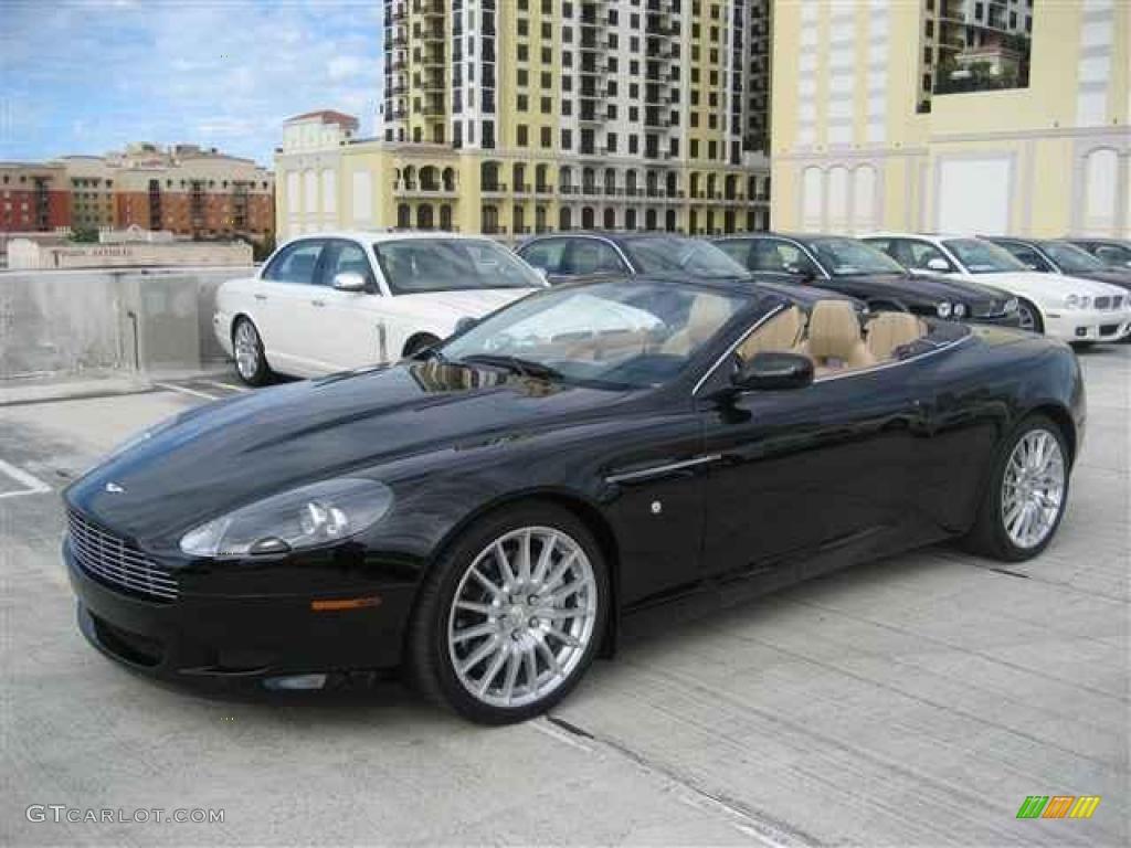 2007 Jet Black Aston Martin Db9 Volante 12412141 Gtcarlot Com Car Color Galleries