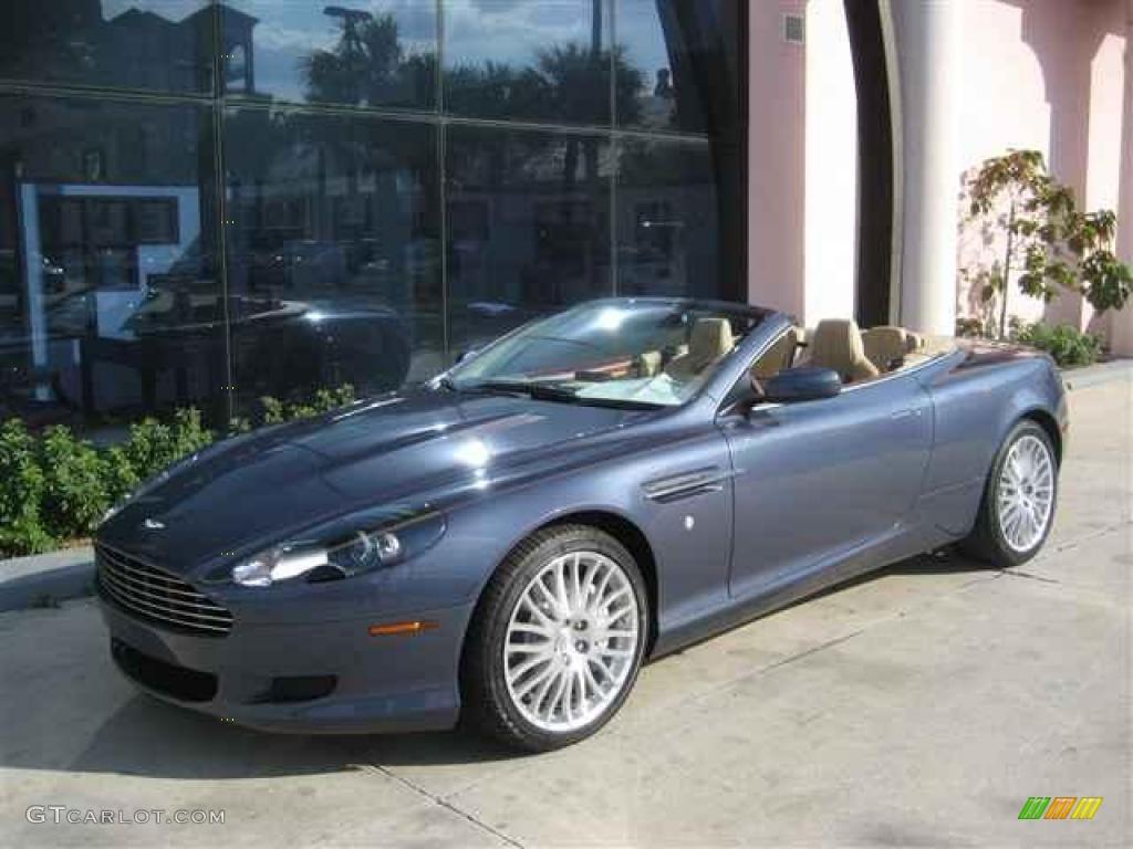 2009 Slate Blue Aston Martin DB9 Volante 12412073
