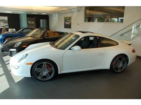 Porsche Carrera 4s White. 2008 Carrara White Porsche 911