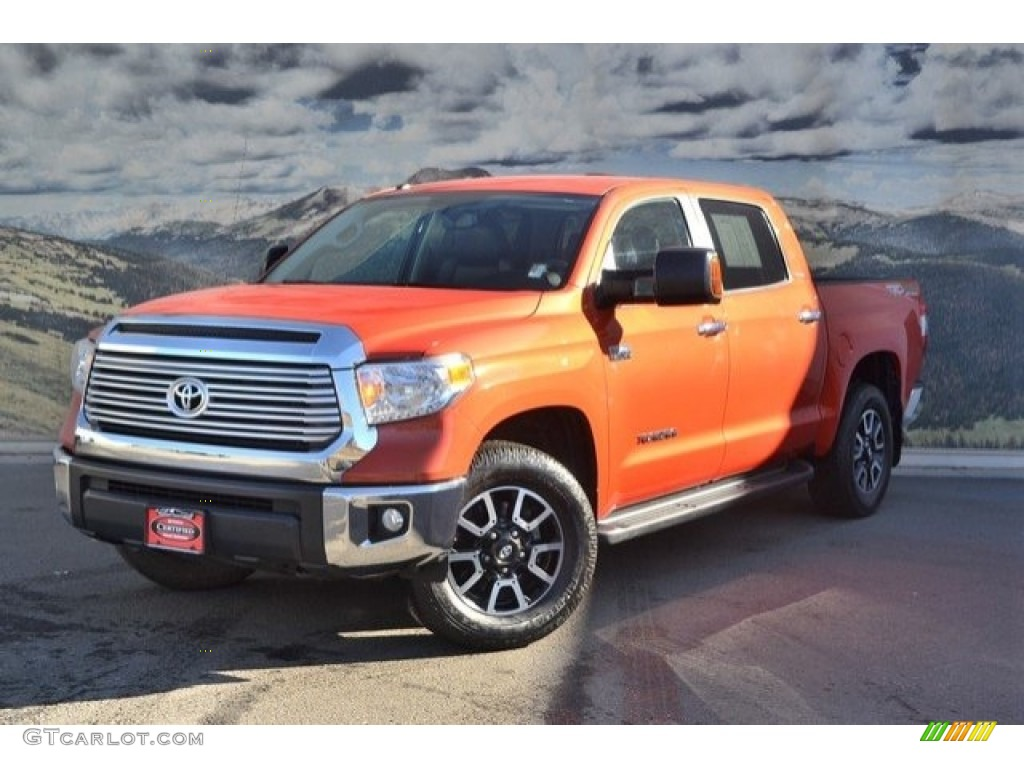 2016 Toyota Tundra Limited CrewMax 4x4 Exterior Photos