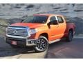 Inferno Orange 2016 Toyota Tundra Limited CrewMax 4x4 Exterior