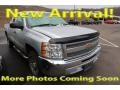 2012 Silver Ice Metallic Chevrolet Silverado 1500 LS Extended Cab  photo #1