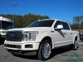 White Platinum 2018 Ford F150 Limited SuperCrew 4x4