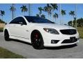 Arctic White 2008 Mercedes-Benz CL 63 AMG