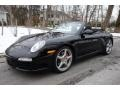 Black 2009 Porsche 911 Carrera S Cabriolet