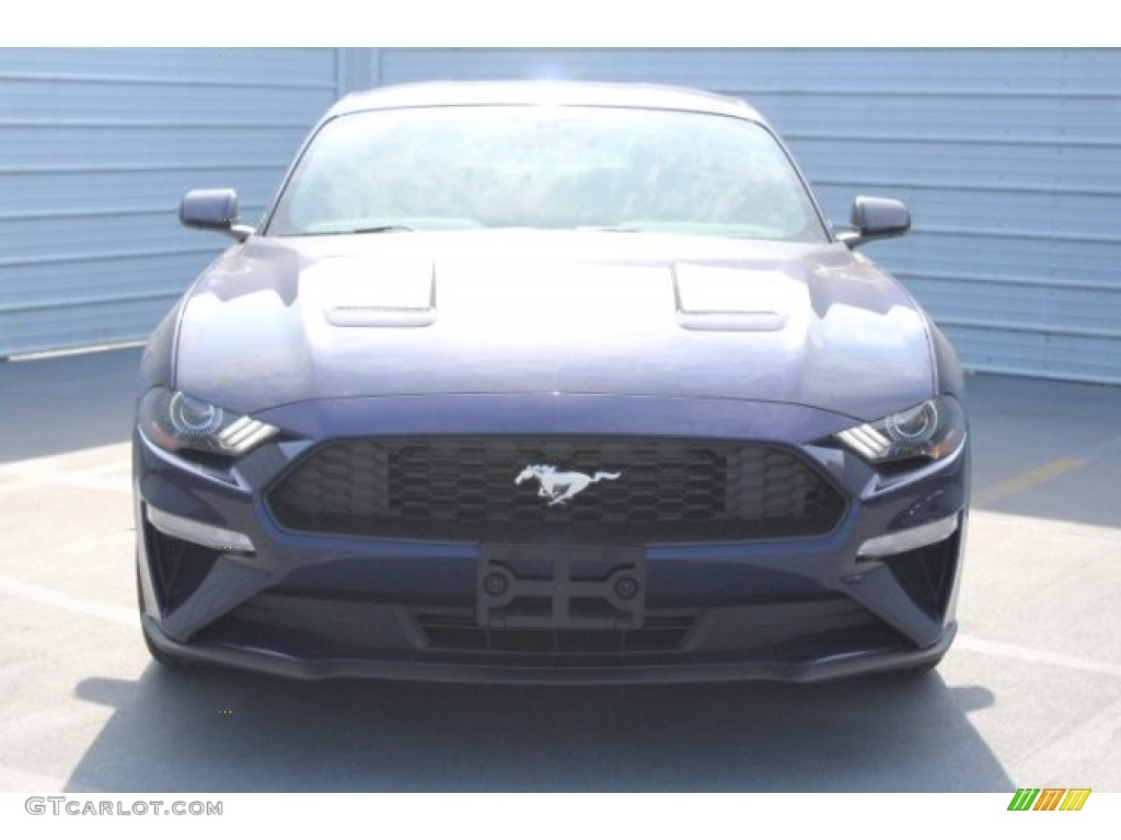 2018 Mustang EcoBoost Fastback - Kona Blue / Ebony photo #2