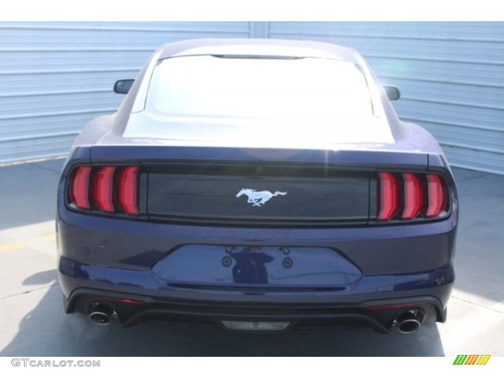 2018 Mustang EcoBoost Fastback - Kona Blue / Ebony photo #7
