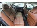 2018 Acura TLX Espresso Interior Rear Seat Photo